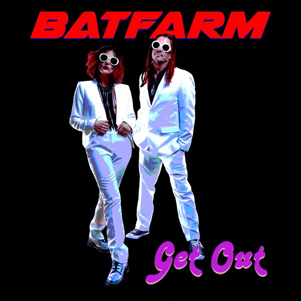 Batfarm Get Out album cover la bands