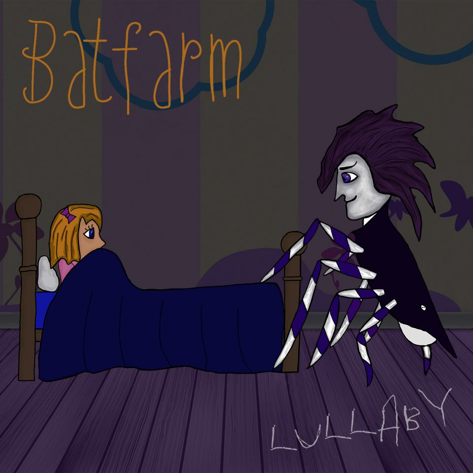 Album art for Batfarm's cover of Lullaby from the Cure