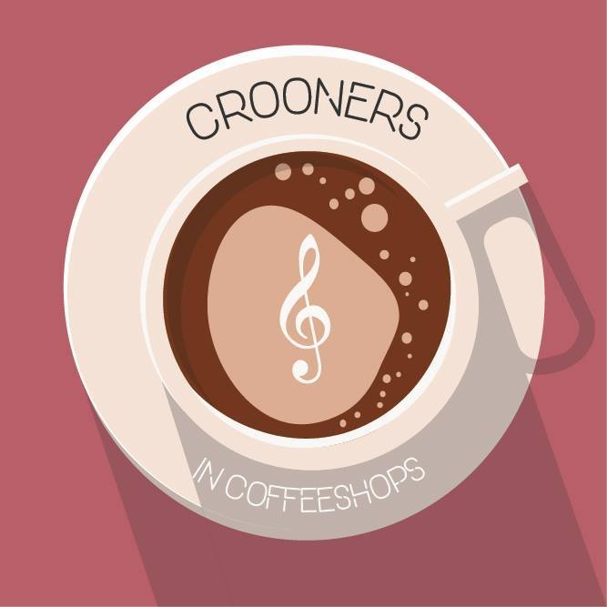 crooners in coffeeshops logo alexx calise podcast interview